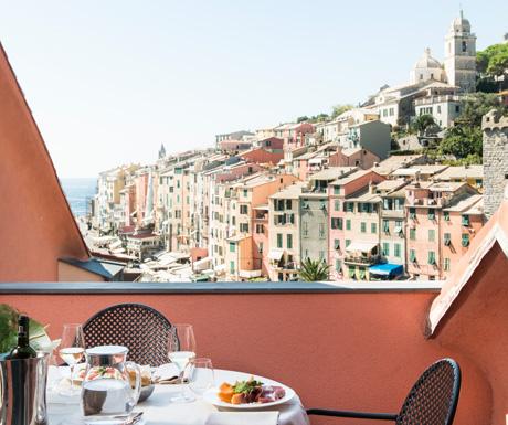 Portovenere Suite terrace