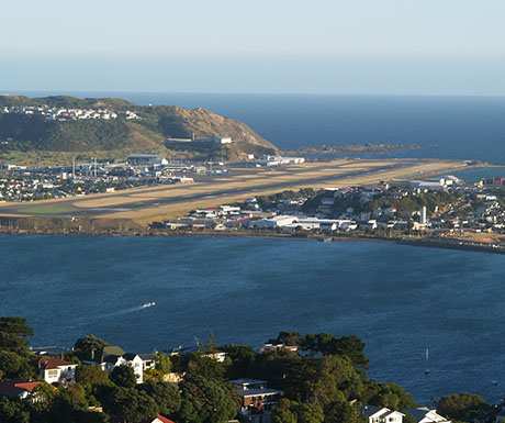 Wellington International Airport, New Zealand