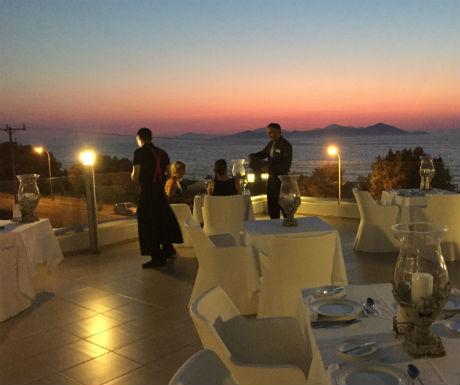 Diamond Delxue Hotel Kos Peruzzi a la grant restaurant