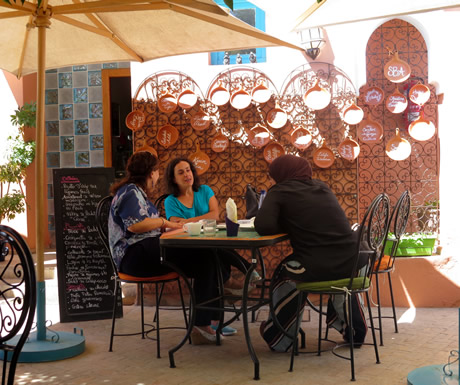 Dining Area during Amal Association in Marrakesh
