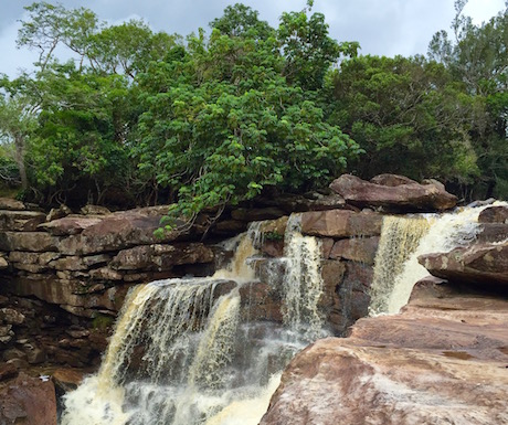 Bokor National Park - waterfall