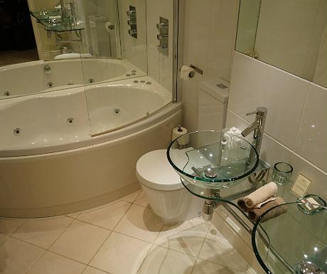 Bathroom during Goldsborough Hall