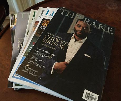 Magazines during Goldsborough Hall