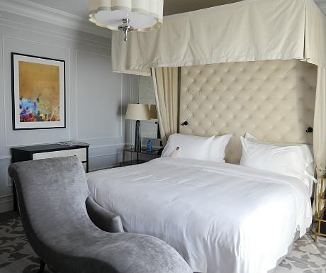Hotel Maria Cristina Bette Davis apartment master bedroom
