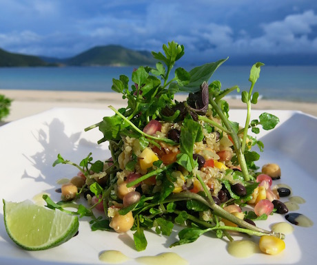 Six Senses Con Dao - food