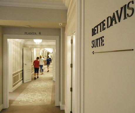 Hotel Maria Cristina Bette Davis suite