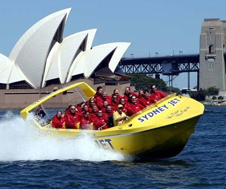 Speed vessel Sydney Harbour
