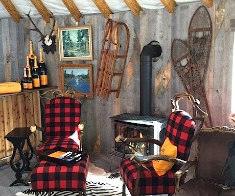 Veuve Clicquot yurt
