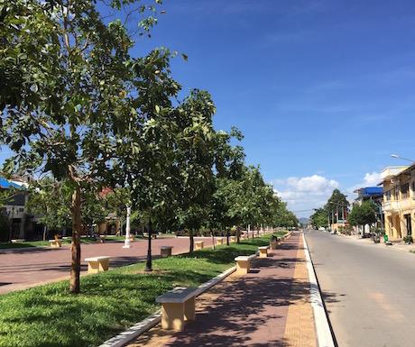 Kampot - streets