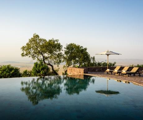 Singita Sasakwa board Serengeti Tanzania forever pool