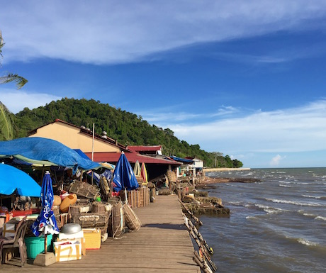 Kep - seafront