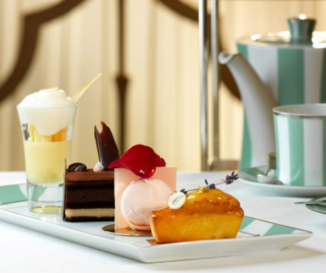 Afternoon tea during Claridges