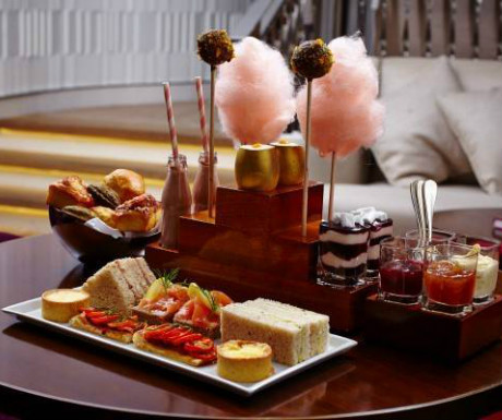 Afternoon tea during One Aldwych