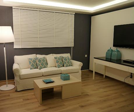 Elounda Villa master bedroom vital space