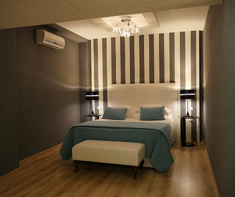 Elounda Villa master bedroom