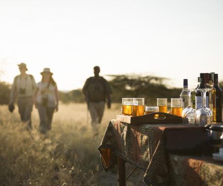 Olivers Camp, Tarangire, Tanzania - sundowners