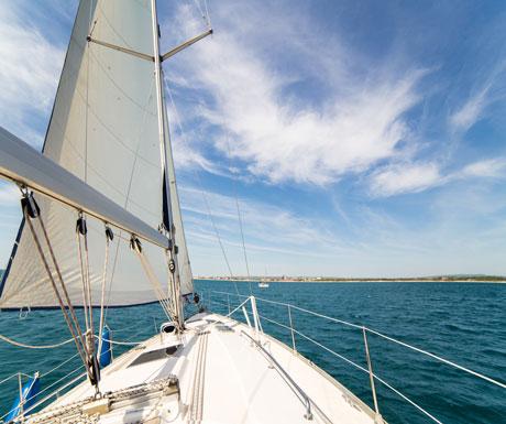 Sailing Lymington
