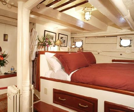 Pacific Yellowfin owner's cabin