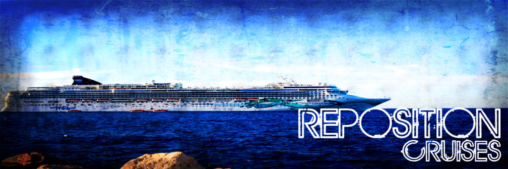 Repositioning Cruise Specials