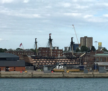 HMS Victory during Portsmouth Historic Dockyard