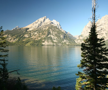 Jenny Lake in Grand Teton National Park, USA