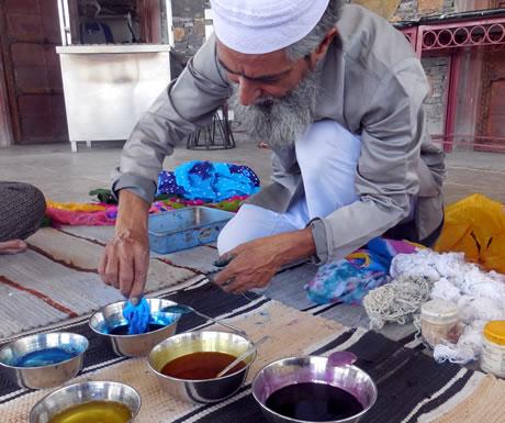 Tie die routine in Araveli