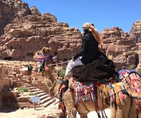 Camel float Petra