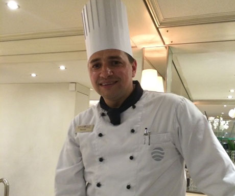 Chef Daniel - Executive Chef on a River Countess