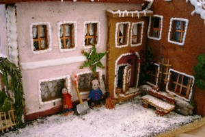 Gingerbread Apartment by Pam Mandel