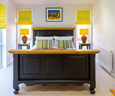 Cheddar Woods Lodge interior
