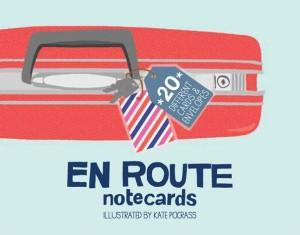 En Route Notecards