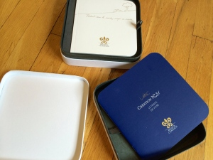 A Relais  Chateaux benefaction box.