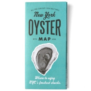 The New York Oyster Map