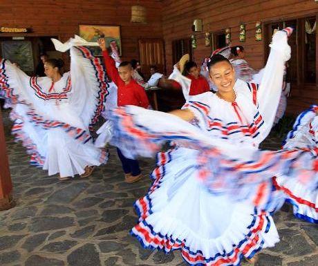 Costa Rican festival dance