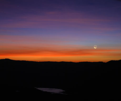 Ngorongoro sunrise