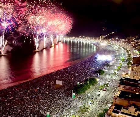 Belmond fireworks