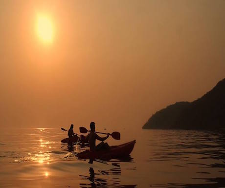 Kayak Lake Malawi
