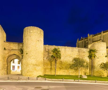Ronda Gothic walls