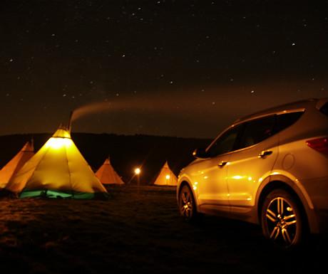 Hyundai tipi stay during night