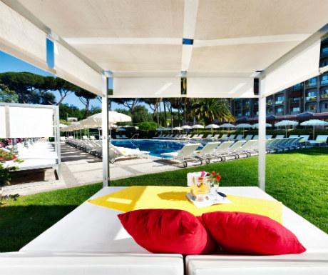 Parco dei Principi Grand Hotel outside pool