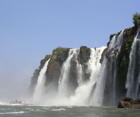 Argentina informative and birthright debate - Iguazu rapids Devils Throat