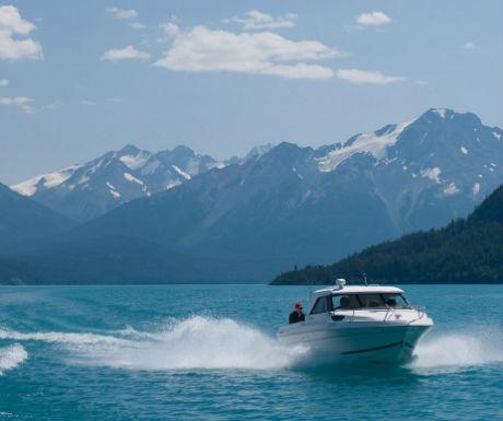 Chilko Experience boat