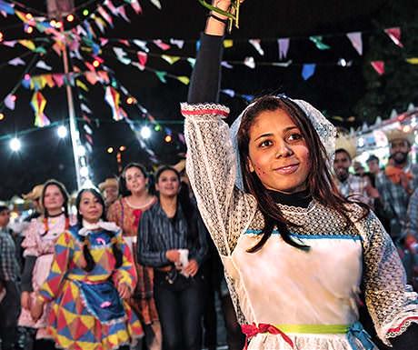 Festa Junina rancher costumes