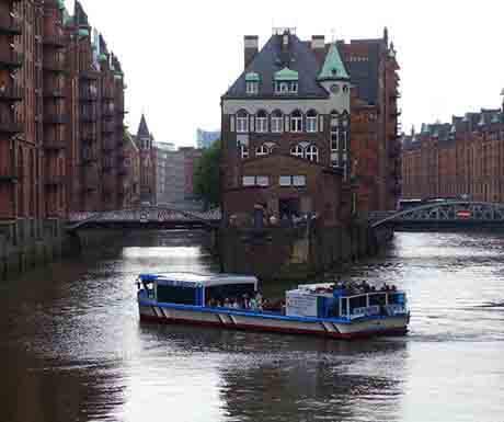 Speicherstadt houses, Hamburg