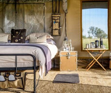 Singita path-finder mobile stay oppulance bedroom apartment Serengeti Tanzania