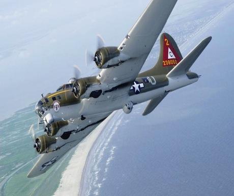 B-17 BELLY