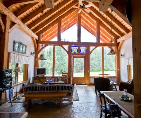 Chilko Experience interior architecture