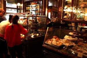 Pastry Case during Cafe Demel, Vienna
