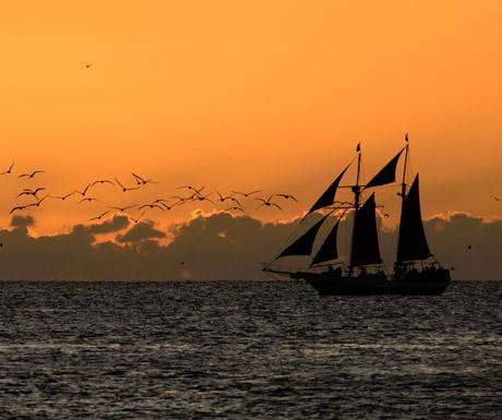 Sailing in a Florida Keys
