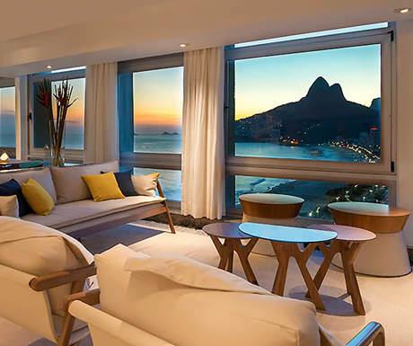 Caesar Park oppulance hotel Rio
